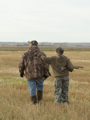 Father and Son Hunting tips