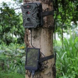 Solar Power Panels Trail Camera